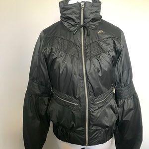 Adidas puffy bomber jacket, size S